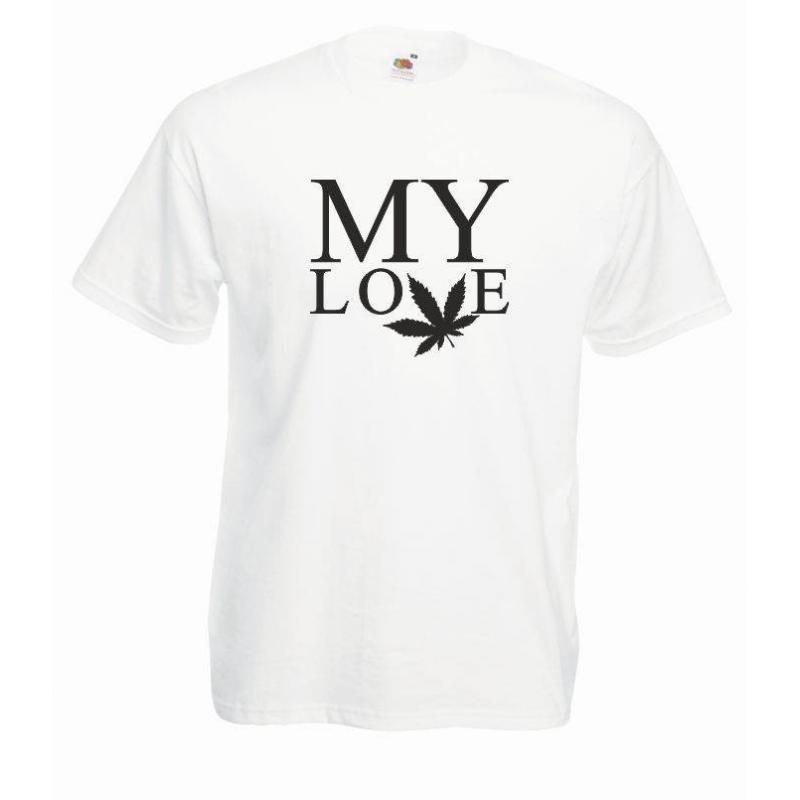 T-shirt oversize MY LOVE