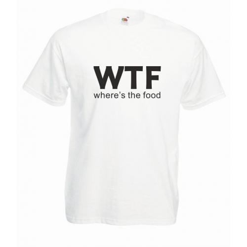 T-shirt oversize WTF