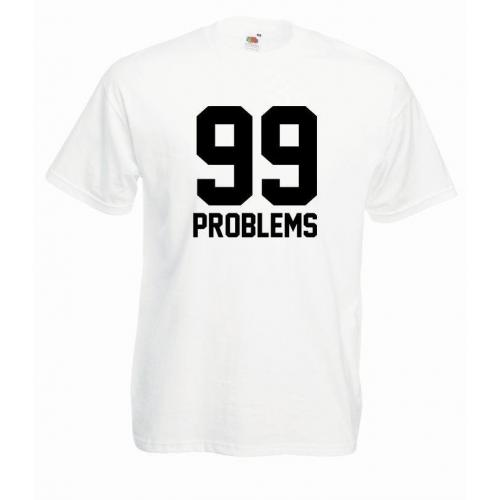 T-shirt oversize 99 PROBLEMS