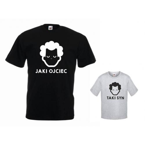 t-shirty dla taty i syna JAKI OJCIEC, TAKI SYN
