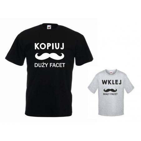 t-shirty dla taty i syna KOPIUJ, WKLEJ