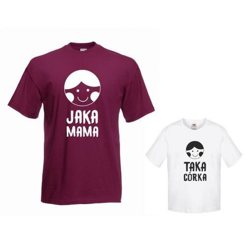 t-shirty dla mamy i córki JAKA MAMA, TAKA CÓRKA 2