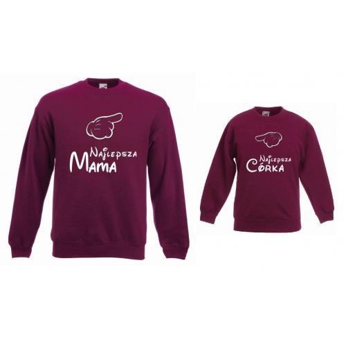 Bluzy dla mamy i córki NAJLEPSZA