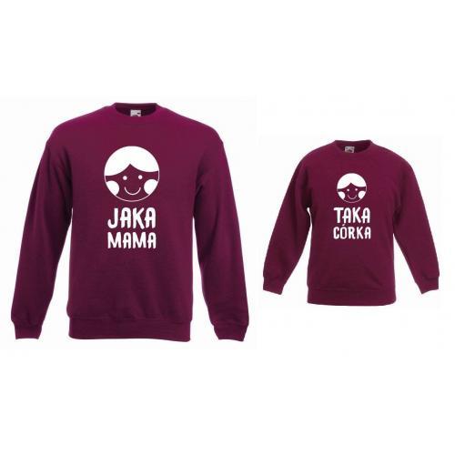 Bluzy dla mamy i córki JAKA MAMA, TAKA CÓRKA
