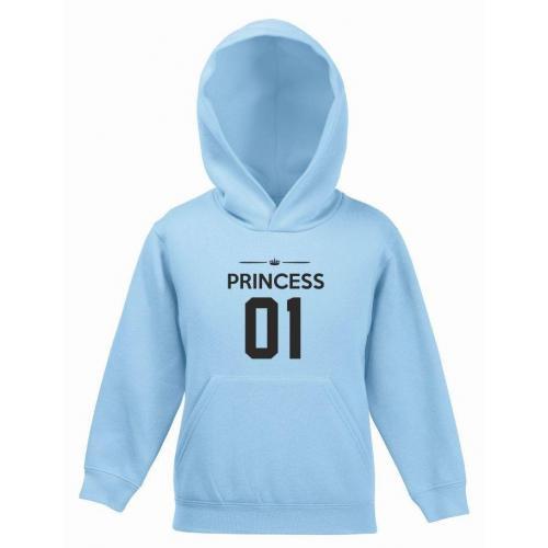 Bluza kids z kapturem PRINCESS 01