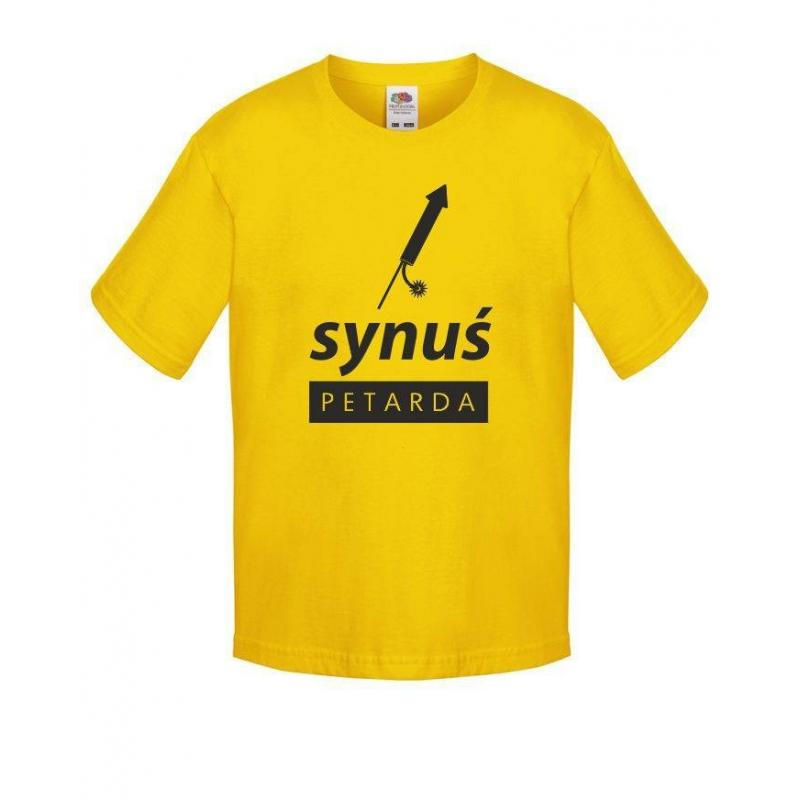 T-shirt kids SYNUŚ