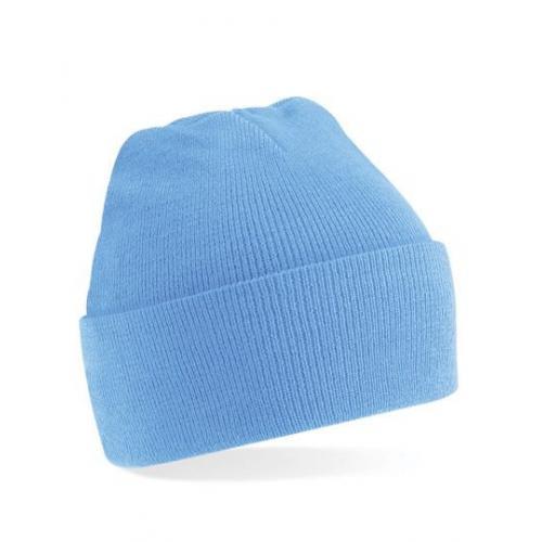 czapka beanie color SKY BLUE