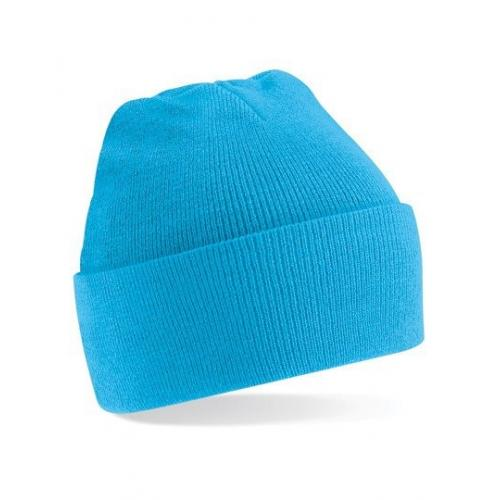 czapka beanie color SURF BLUE