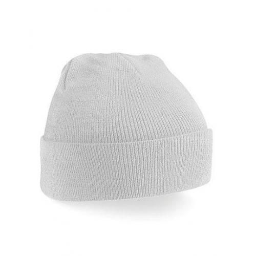 czapka beanie color LIGHT GREY