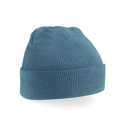 czapka beanie color AIRFORCE BLUE