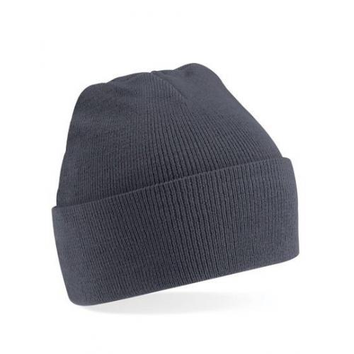 czapka beanie color GRAPHITE GREY
