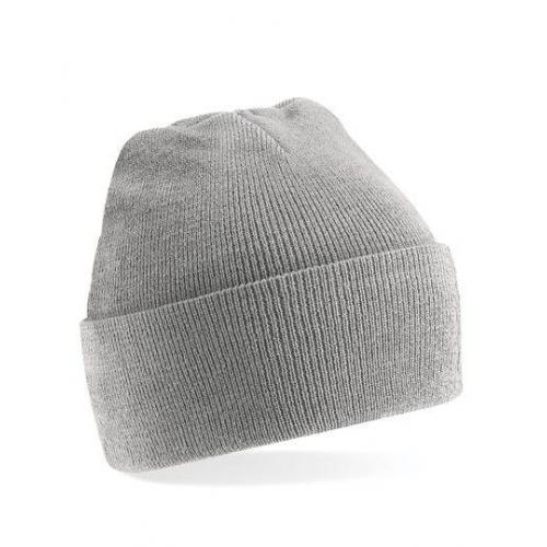 czapka beanie color HEATHER GREY