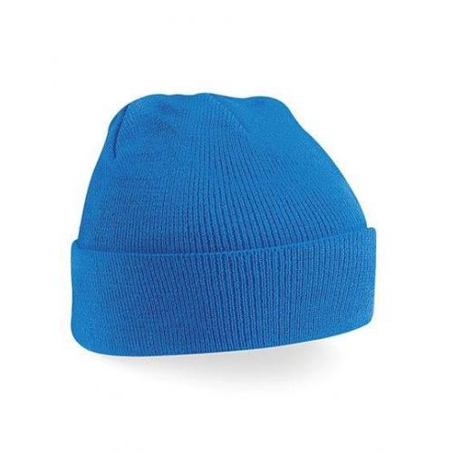 czapka beanie color SAPPHIRE BLUE