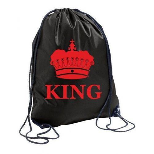 plecak black KING