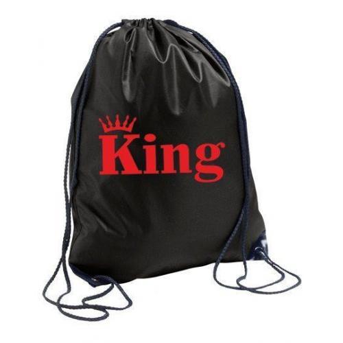plecak black KING CORONE