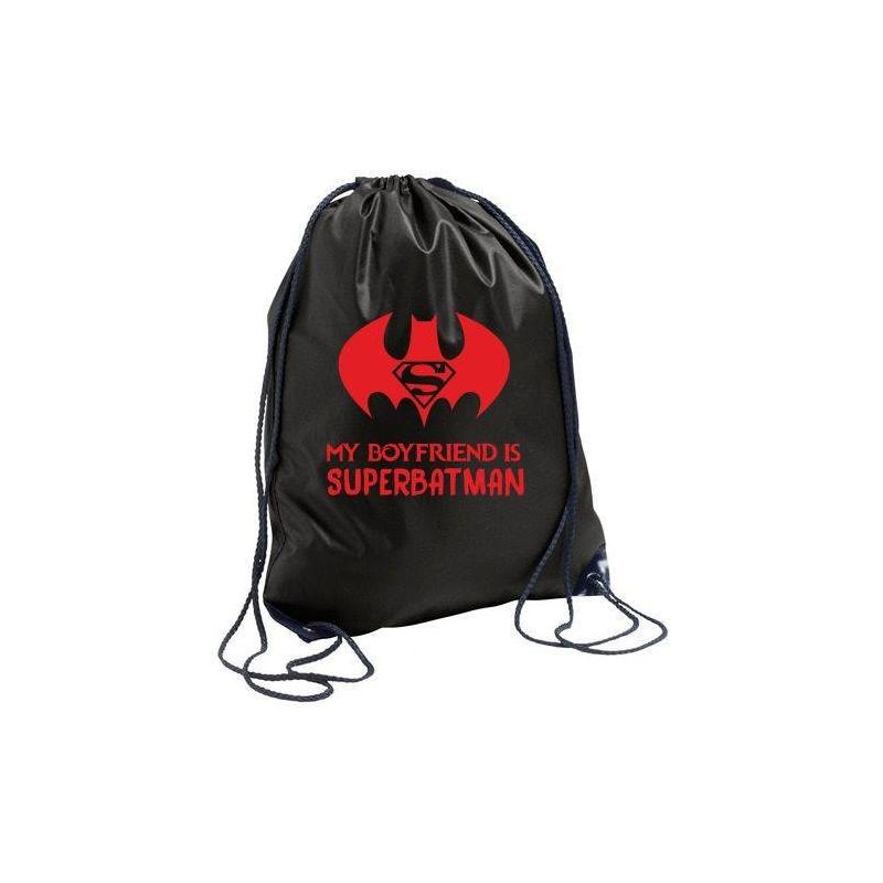 plecak black SUPERBATMAN