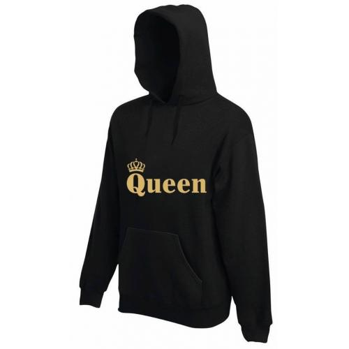 bluza z kapturem QUEEN CORONA COLOR