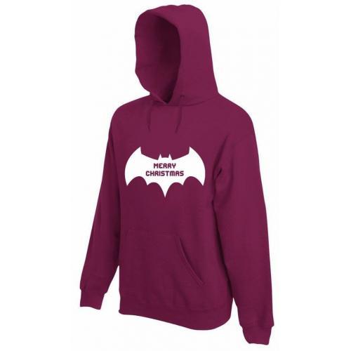 bluza z kapturem MERRY CHRITMAS BATMAN