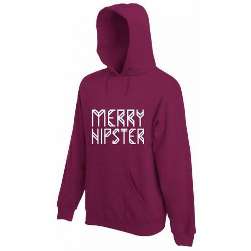 bluza z kapturem MERRY HIPSTER