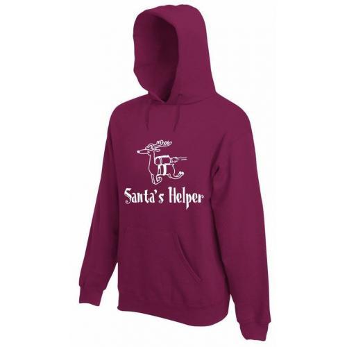 bluza z kapturem SANTA'S HELPER