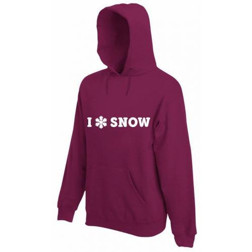 bluza z kapturem SNOW