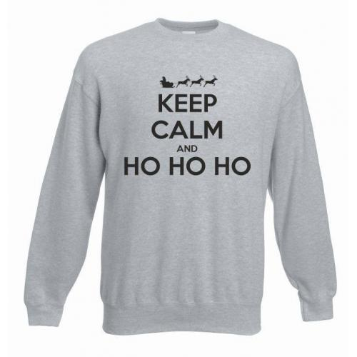 bluza oversize KEEP CALM AND HO HO HO