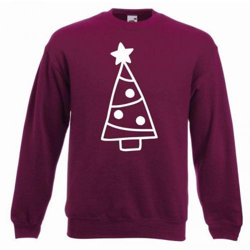 bluza oversize CHRISTMAS TREES