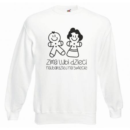 bluza oversize ZIMA LUBI DZIECI