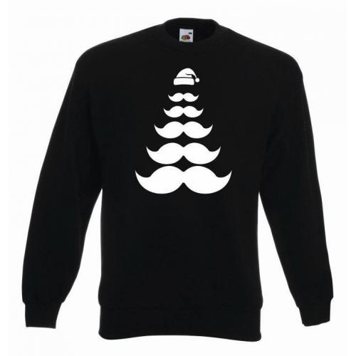 bluza oversize MUSTACHE TREES COLOR