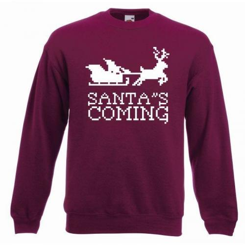 bluza oversize SANTA'S COMING COLOR
