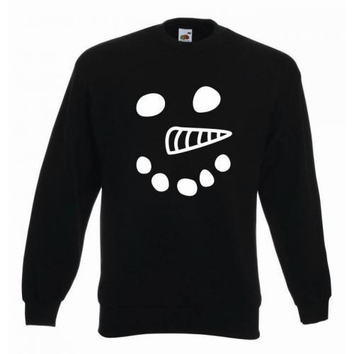 bluza snowman czarny