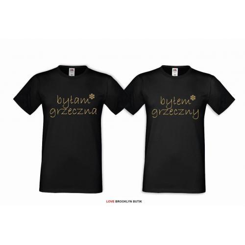 T-shirt DLA PAR 2 SZT GRZECZNA & GRZECZNY GOLD