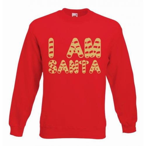 bluza oversize I AM SANTA COLOR