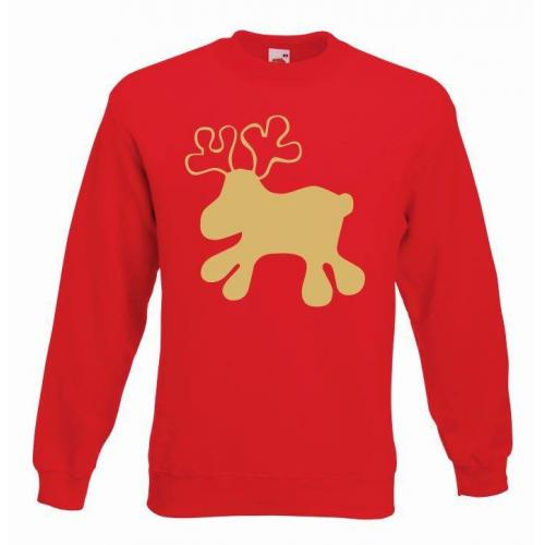 bluza oversize LITTLE REINDEER COLOR
