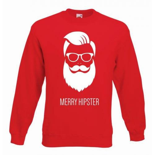 bluza oversize MERRY HIPSTER GLASSES COLOR