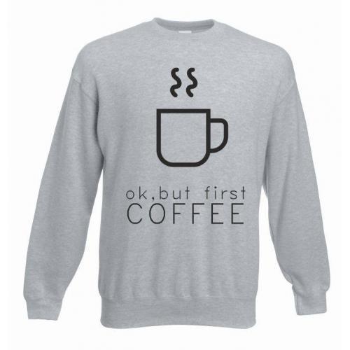 bluza oversize FIRST COFFEE