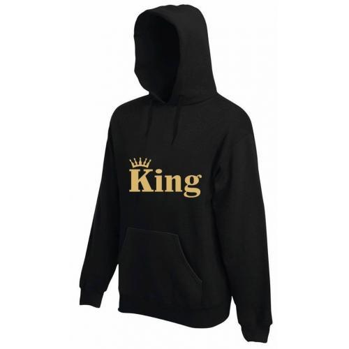 bluza z kapturem KING CORONA COLOR