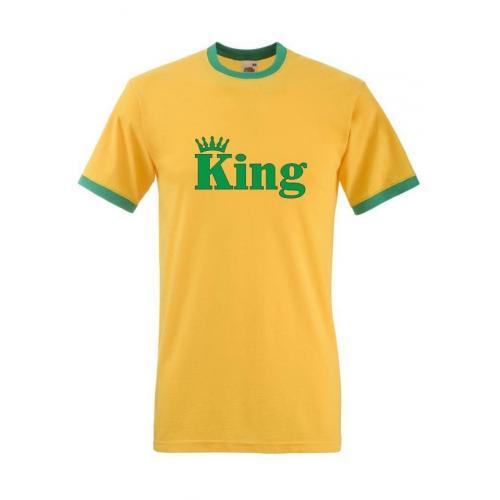 T-shirt oversize KING CORONE