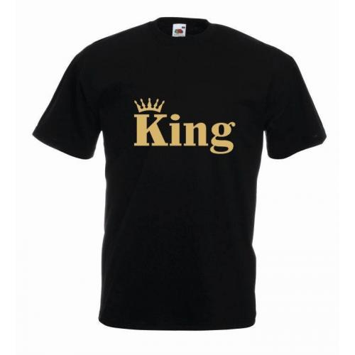 T-shirt oversize KING CORONA COLOR