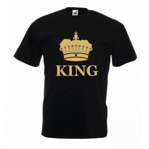 T-shirt oversize KING COLOR