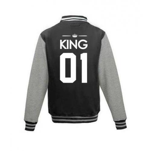 Bluza baseball KING 01