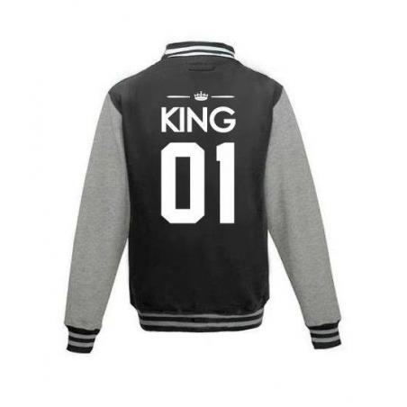 Bluza baseball KING 01