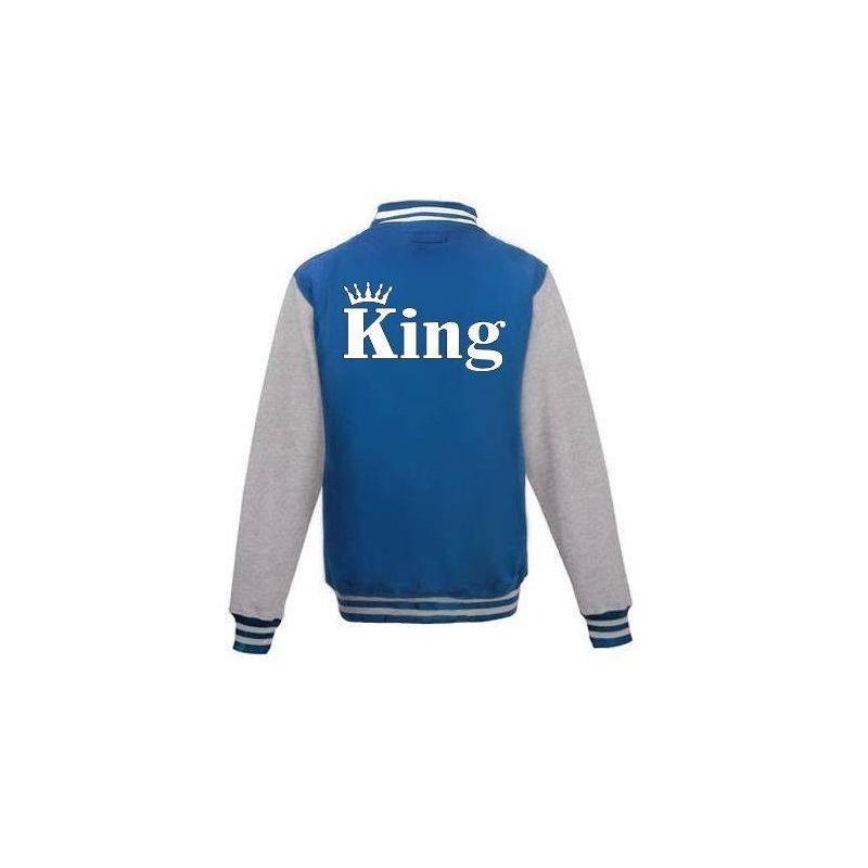 Bluza baseball KING KORONA