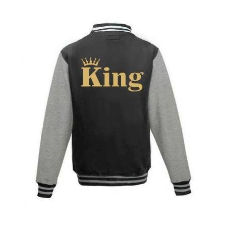 Bluza baseball KING KORONA