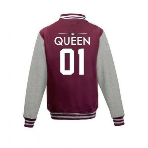 Bluza baseball QUEEN 01