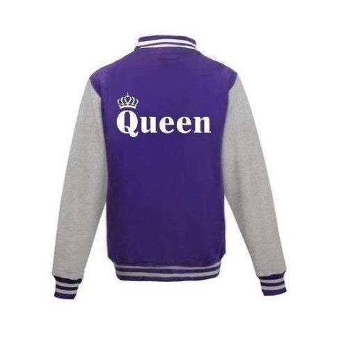 Bluza baseball QUEEN KORONA