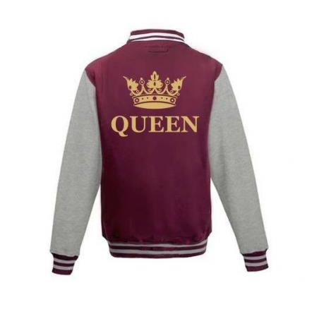 Bluza baseball QUEEN KORONA 2