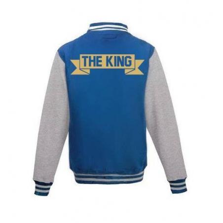 Bluza baseball THE KING
