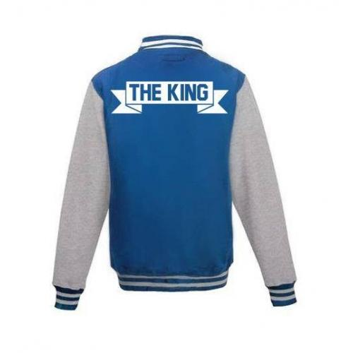 Bluza baseball THE KING