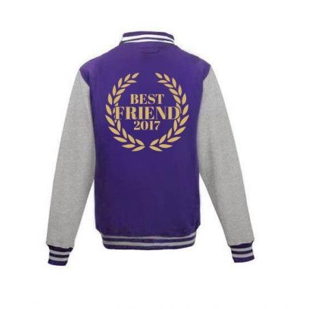Bluza baseball BEST FRIEND